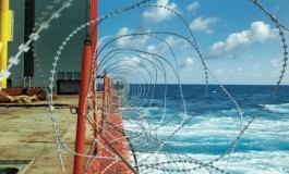 Razor wire – injuring the crew it's designed to protect