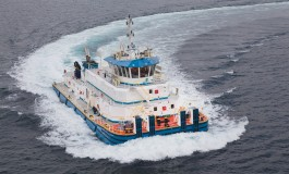 Turkish yard completes river pushboats for iron ore transport in S America