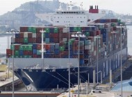 First ultra large container vessel transits the Panama Canal