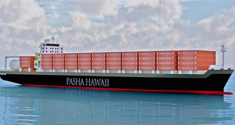 Pasha Hawaii heading to Keppel in Texas for containership pair