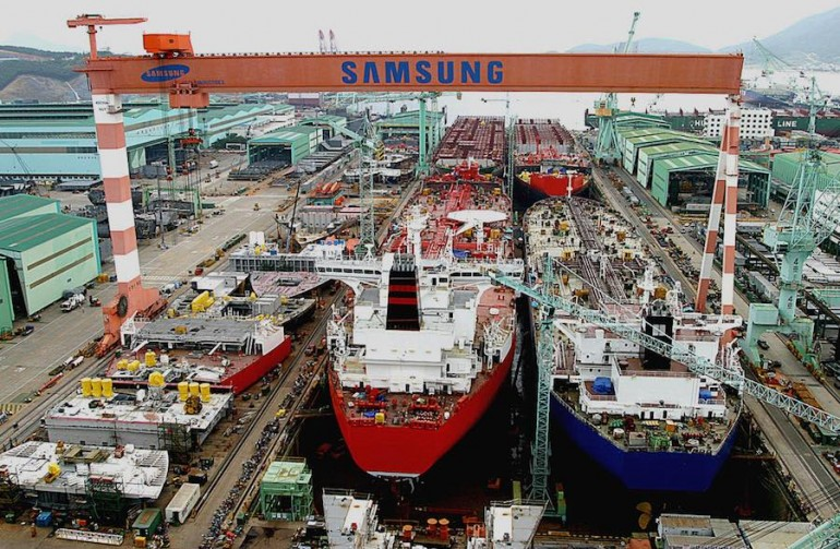 Samsung Heavy gears up for the smart ship era with Inmarsat