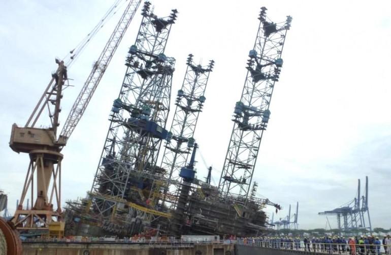 Jurong Shipyard fined over $294,000 for rig tilt accident