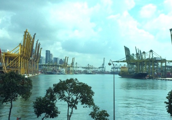 Three hospitalised following fire on ship calling at Singapore