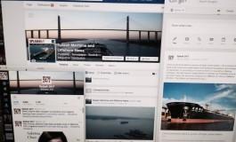 Social media increasingly driving the shipping news agenda