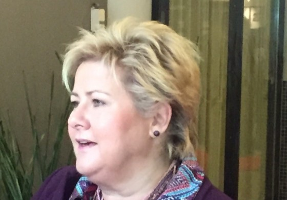 Erna Solberg: Norway's prime minister says nation's offshore sector is not in crisis
