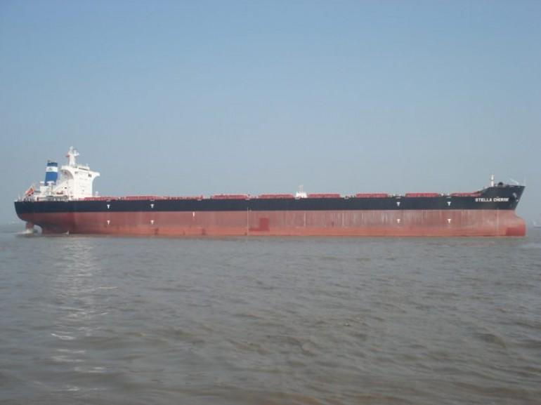 Two bulkers collide off Shanghai