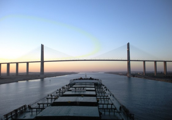 Suez alert: the terrorist threat to shipping
