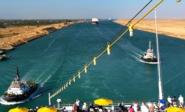 Expanded Suez Canal begins trial operations