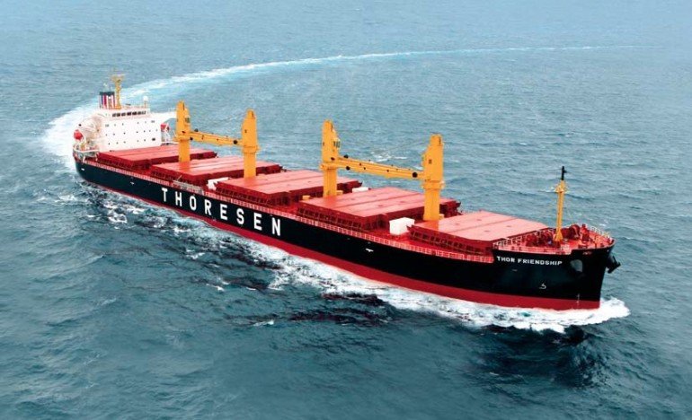 Thoresen Shipping acquires secondhand supramax bulker