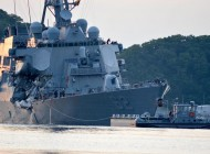Former commanding officers face negligent homicide charges over fatal US Navy destroyer incidents