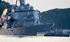 US Navy relieves senior officers involved in deadly boxship collision
