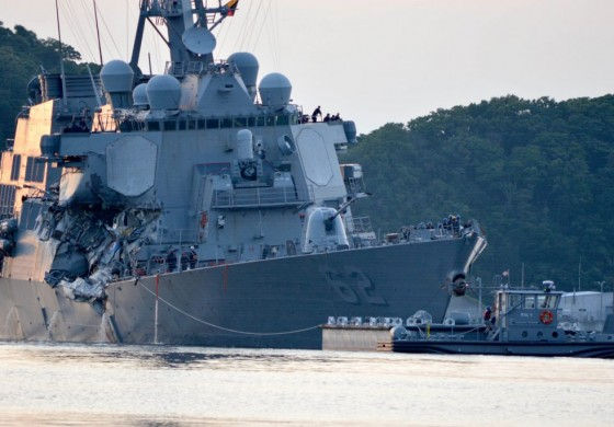Congress prepares to hear damning report into US Navy training standards