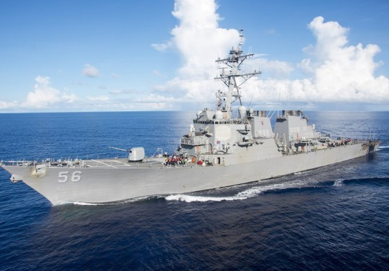 Ten missing after US Navy destroyer USS John S. McCain collides with tanker off Singapore