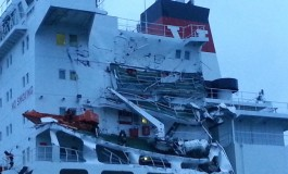 Valles tanker and Chinese bulker collide in the English Channel