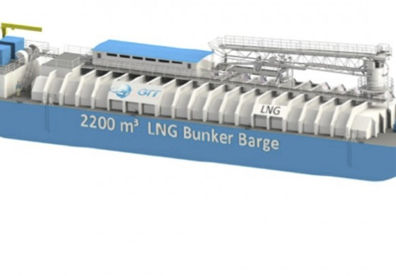 Contract signed for first LNG bunker barge in North America