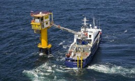 Gas flows from world's smallest topside