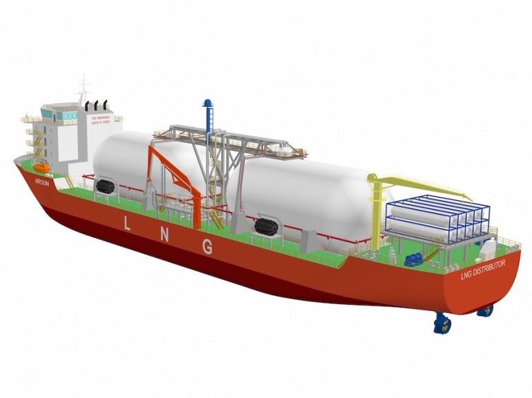 Wison launches multifunctional LNG carrier