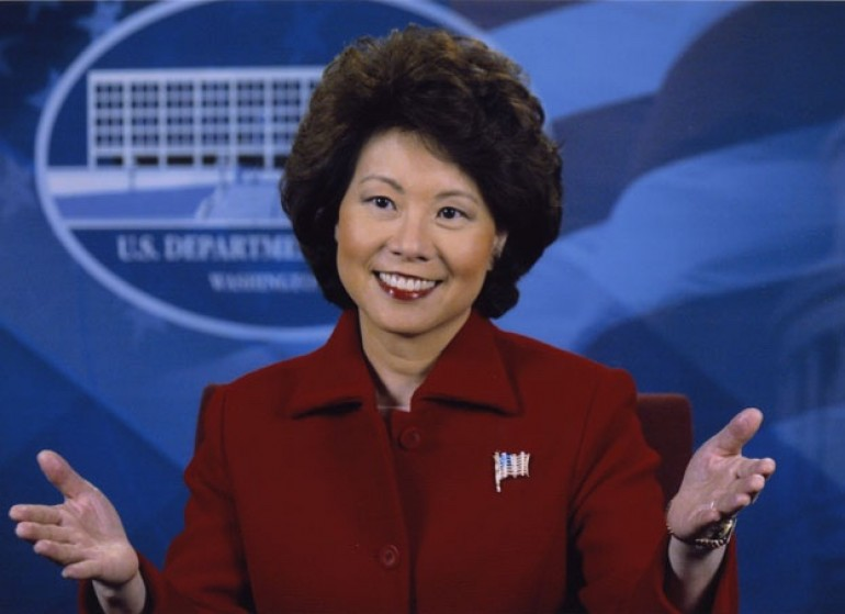 US Senate confirms Elaine Chao as Secretary of Transportation