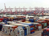 Chinese ports clump together