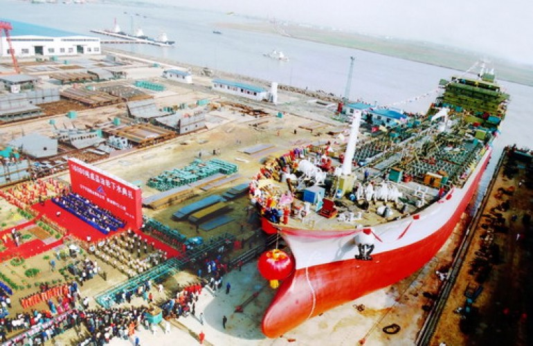 Hongguan Shipyard transforms into environmental equipment factory