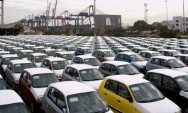 Automobile yard for ro-ro services at Pipavav port
