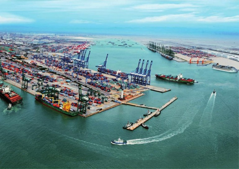 Qinhuangdao Port and Tianjin Port integrate container terminal operations