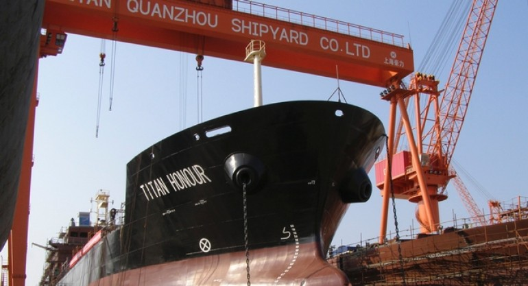 Titan Petrochemical acquires Zhoushan shipyard assets