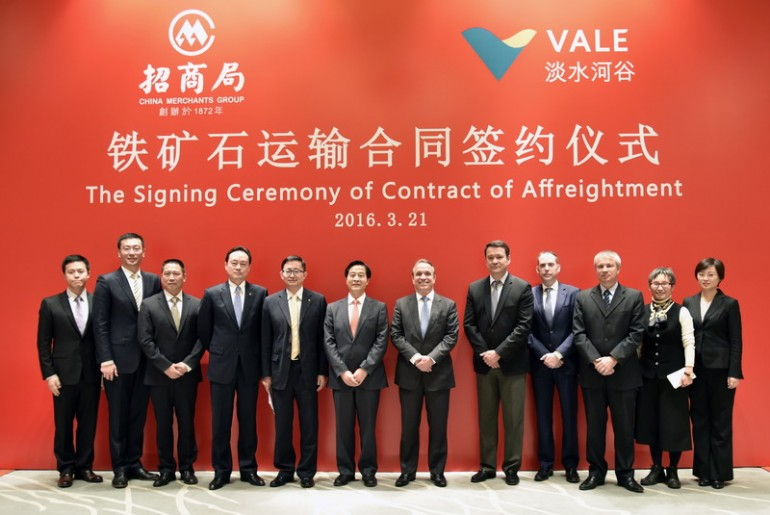 CMES signs 27-year VLOC deal with Vale