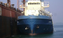 Fire breaks out on Indian OSV