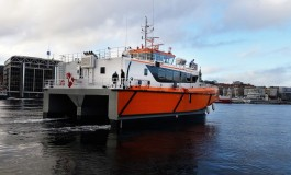 World Marine Offshore vessel hit by fire