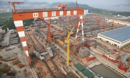 Suppliers stage protest at Qingdao Yangfan Shipbuilding