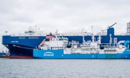 Landmark ship-to-ship LNG bunkering debuts in Zeebrugge