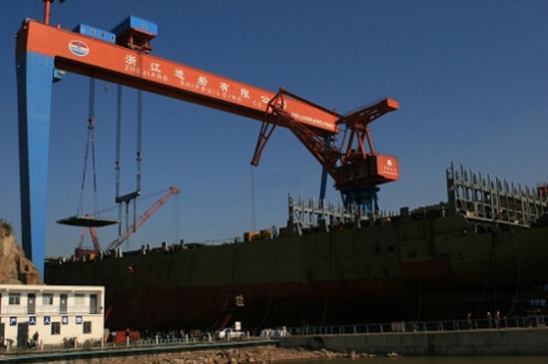 Zhejiang Shipbuilding to lay off 300 employees
